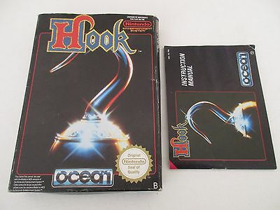 Hook Nintendo Nes - Boite Et Notice Seulement - No Game Box And Manual Only Fra