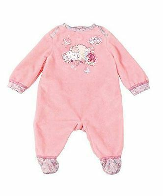 Zapf Creation Baby Annabell Lamb Sheep Pink Baby Doll Romper Suit
