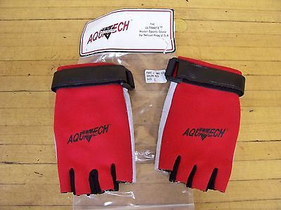Aquatech Nelson Rigg Water Sports Gloves Large Jet Ski Skiing Sailing Sail Boat