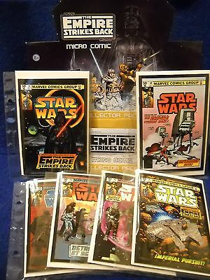 IDW STAR WARS Empire Strikes Back Micro Comic & 3D Poster SET, Glasses, baged