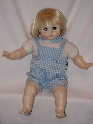 "18"" Vintage Madame Alexander Baby Brother Doll"