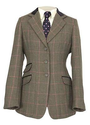 NEW Shires Childs Huntingdon Tweed Riding Classic Show Jacket - 100% Wool