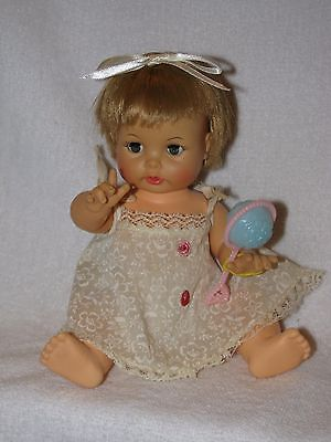 "Vintage 8"" Ideal Teary Deary Baby Doll #2"