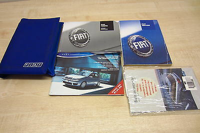 FIAT PUNTO MK2 FACELIFT 2003-2006 Owners Manual Handbook SERVICE BOOK ONE STAMP!