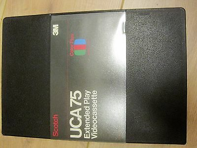 Scotch 3M UCA 75 Extended Play Videocassette U-matic nos