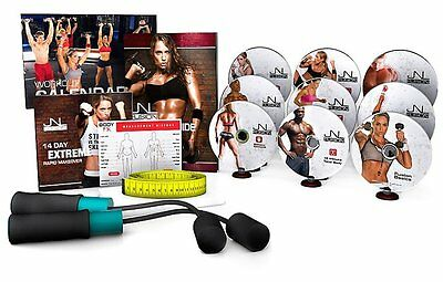 Jennifer Nicole Lee JNL Fusion Complete DVD Fitness Workout Speed Rope