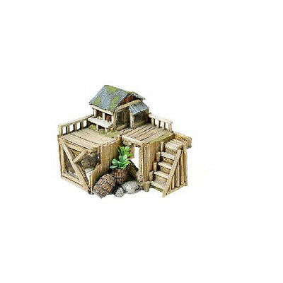 Caldex Classic Character Buildings Wooden House With Plants 170mm
