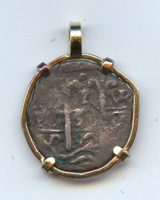 Genuine Old 1 Real Jewelry (#789) 14KT Gold Bezel. Carefully Check out the Photo