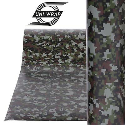 "Camouflage Camo Decals Stickers Wrap Vinyl  ""Digital Design"" ALL SIZES - UV PRO"