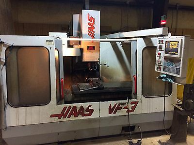 HAAS VF-3 CNC Vertical Machining Center Mill CT40 4020 4th Axis Ready 40x20 1995