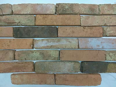 Original Clay Antique Flamed  Bricks Veneer Sustainable Product