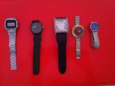 Lotto Orologi Usati Swatch Casio Guess Timex Vintage