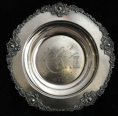 Standard Silver Co. Ltd Toronto Special Hard White Metal Cake Plate