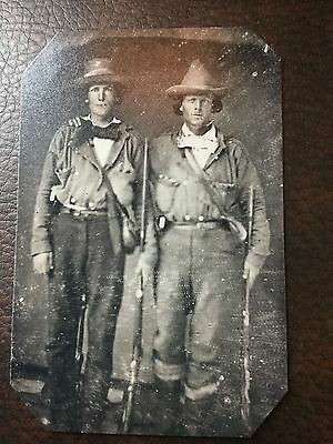 Civil War Confederate Quantrill's Raiders tintype C305RP