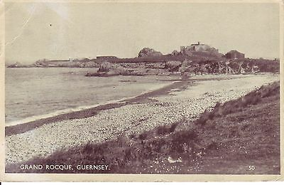 GUERNSEY, Grand Rocque.Postage 1947 from the Island.
