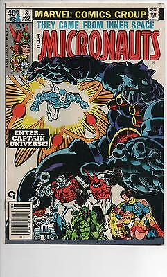 The Micronauts #8 (1979) Vf 1St Appearance Captain Universe!