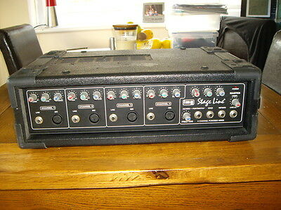 Stageline amp IMG PMX-100 4 channel powered mixer