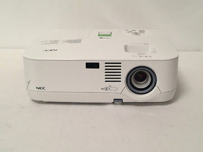 NEC NP400 LCD PROJECTOR USED 769h LAMP HOURS 78% LEFT LAMP WARNING LOUD |REF:939