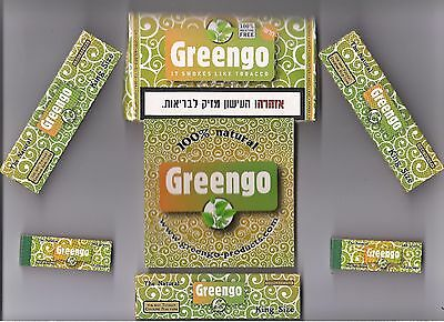 Greengo Herbal Smoking Set with Rolling Papers & Tips, Tobacco and Nicotine Free