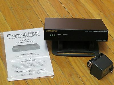 ChannelPlus Multi-Room Video Triple Digital Modulator, 5435