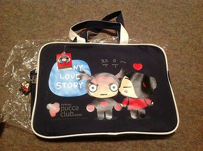 NEW BNWT UNIQUE RARE PUCCA Funny Love Messenger Bag by Vooz 2000 - LONDON