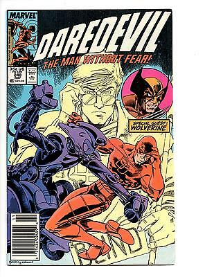 Daredevil #248 & 249 Vf/nm To Nm (1987) Wolverine Appearances!