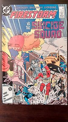 Firestorm #64 (1987) Nm Rare X-Over With Suicide Squad Ostrander