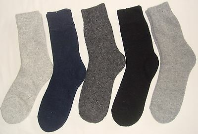 5 Pairs Men's Rabbit Wool Thick Winter Socks