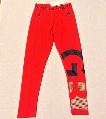 RIO 2016 Olympic TEAM GB Village Tights Stella McCartney ATHLETE ISSUE BNWT L