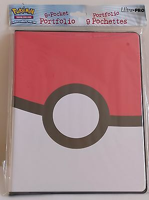 Ultra Pro Pokemon Sun & and Moon A4 9 Pocket Portfolio Binder Album 180 Cards