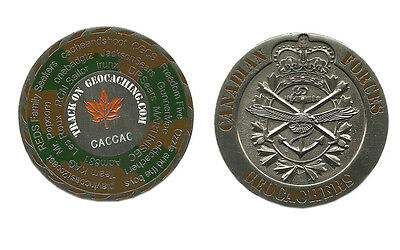 Canadian Armed Forces Geo-coin