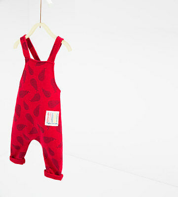 NWT Zara Baby Girls Pear romper jumpsuit Trousers pants Size 3/4 years - zara