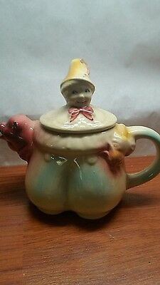 Shawnee Pottery, Tom the Piper's Son Teapot, USA, 44