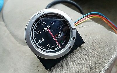 apexi boost gauge 2.5bar el back light memory warning peak *open to offers*