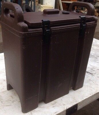 Cambro 350LCD Insulated Food/Soup Carrier -Hot/ Cold. 3.375 Gallon . Our#6