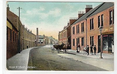 HIGH STREET EAST, METHIL: Fife postcard (C24377)