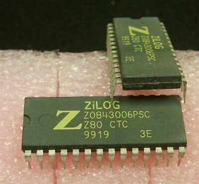 Zilog Z0843006 Programmable Counter/Timer - NEW