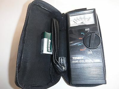 NEW TENMA 72-6604 40 - 120 dB Range Portable Sound Level Meter with Case (P)