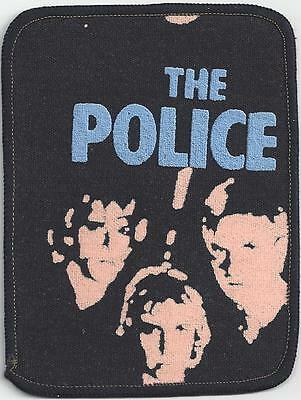 The Police Rock Band from the 1970's original Patch Badge, from  London, England