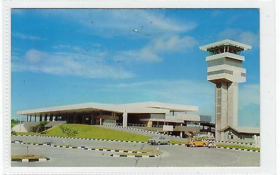 INTERNATIONAL AIRPORT: Brunei postcard (C24476)