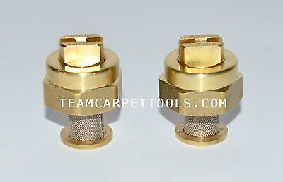 T-Jet & Strainer Replacement for Low Profile Carpet Cleaning Wands Nozzle 11001