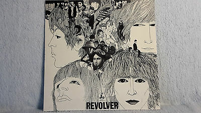 the Beatles, Revolver, UK LP 1973, silver/black Parlophone Label