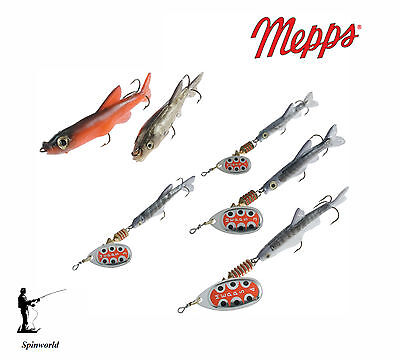 Mepps AGLIA TW  MINO spinner  Variety sizes & Colours perfect for perch , pike ,
