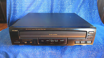 TEAC PD-D1500 5-CD Carousel Changer/Player Compact Disc TESTED