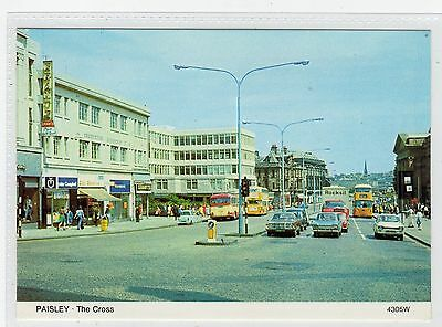 THE CROSS, PAISLEY: Renfrewshire postcard (C24643)