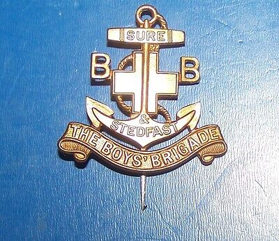 The Boys Brigade Badge Sure Stedfast