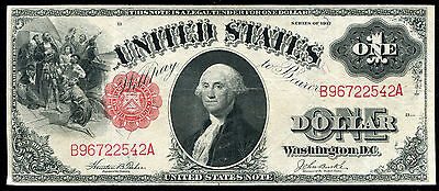 Fr. 37 1917 $2 Two Dollars Legal Tender United States Note Vf/xf