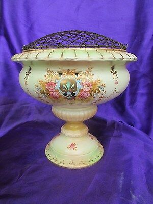 Crown Devon Fieldings Rose Vase c-1890,s-1910