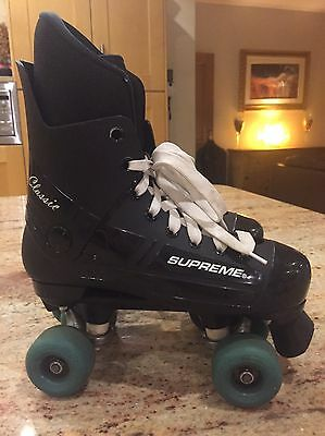 Supreme Classic Quad roller skates , Size 40 - Fab Condition - Barely Used