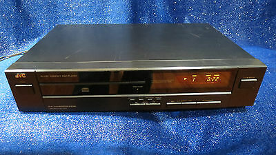 JVC XL-V101 V101BK Single CD Compact Disc Player VINTAGE - TESTED and WORKING